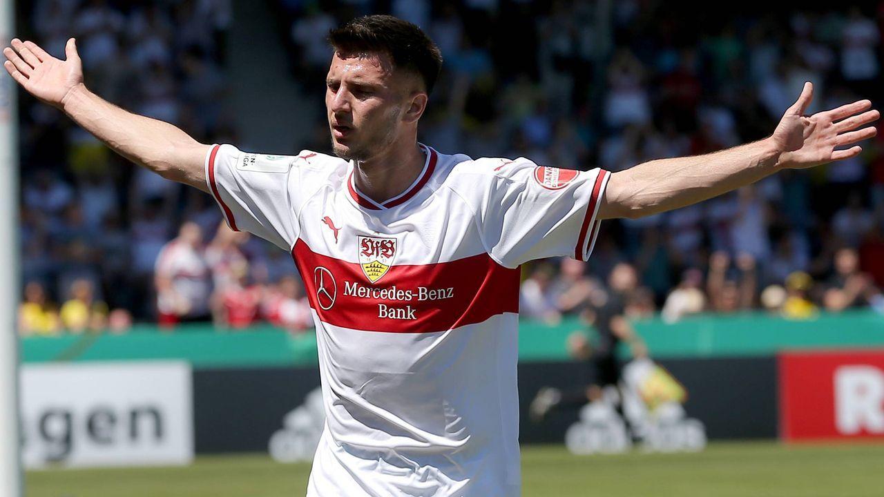 Leon Dajaku (VfB Stuttgart) - Bildquelle: imago images / DeFodi