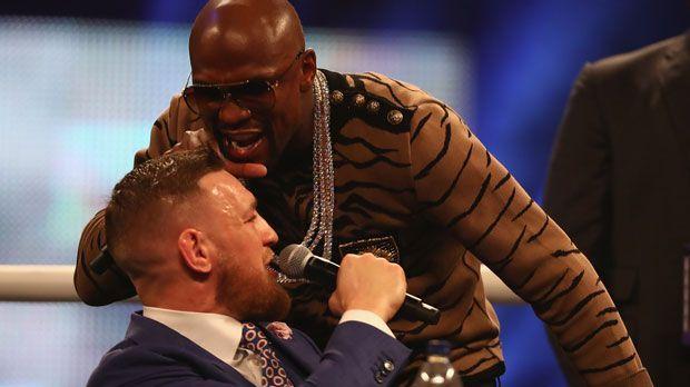 Mayweather vs. McGregor: Das Duell der Trash-Talker - Bildquelle: 2017 Getty Images