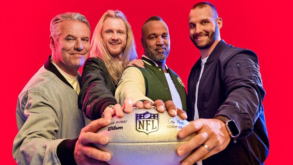Die ran-NFL-Crew ist bereit für die kommenden Saison