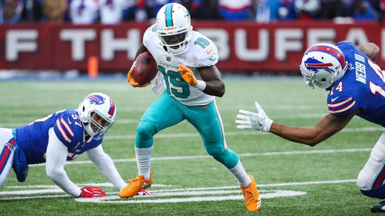 Platz 7: Miami Dolphins - Bildquelle: 2017 Getty Images