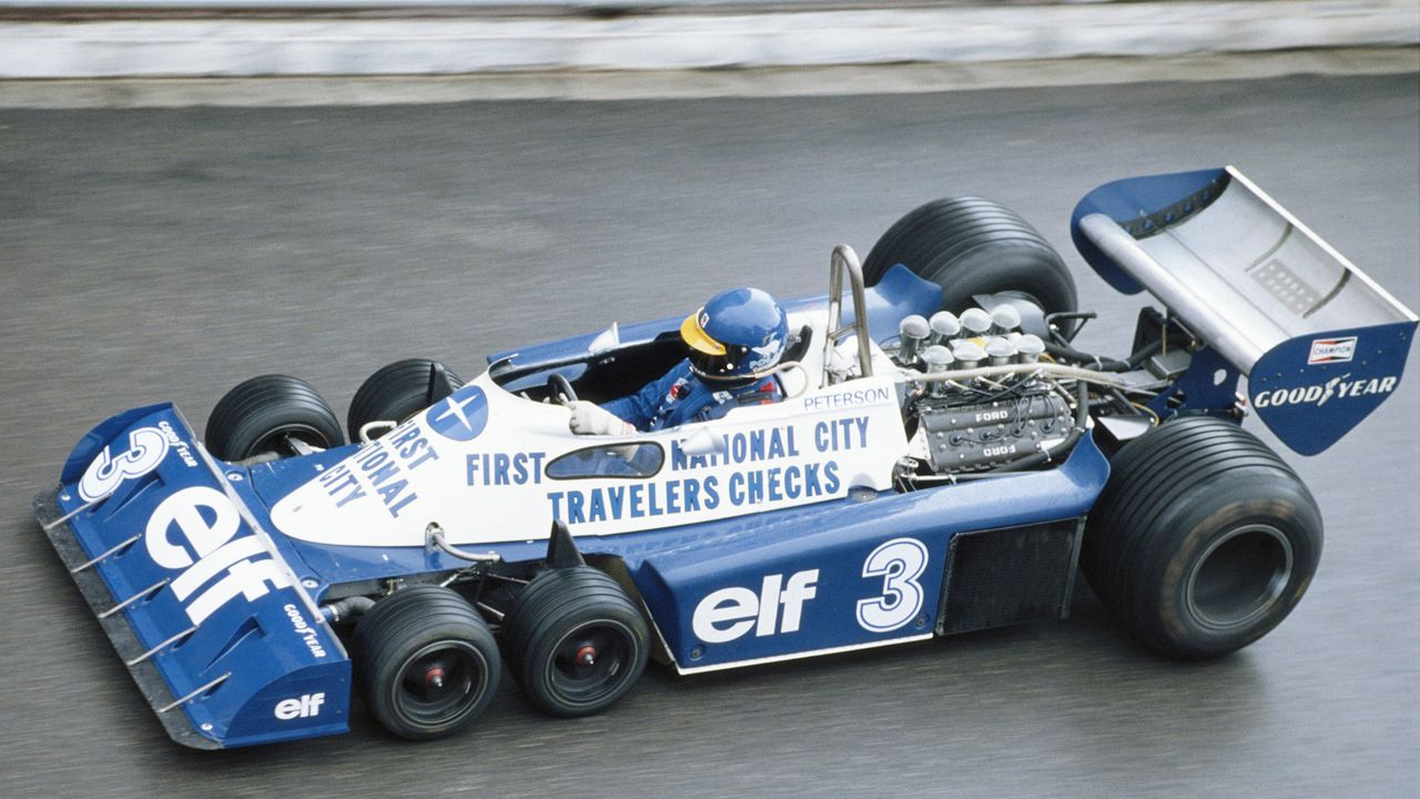 Tyrrell Ford P34 (1977)  - Bildquelle: 2010 Getty Images