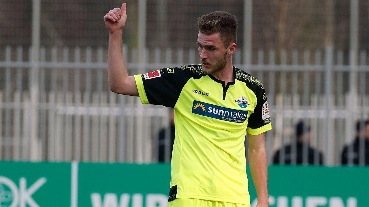 Dennis Srbeny (SC Paderborn) - Bildquelle: imago images/Joachim Sielski