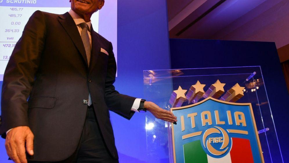 FIGC und Gravina fordern finanzielle Unterstützung - Bildquelle: AFPSIDALBERTO PIZZOLI