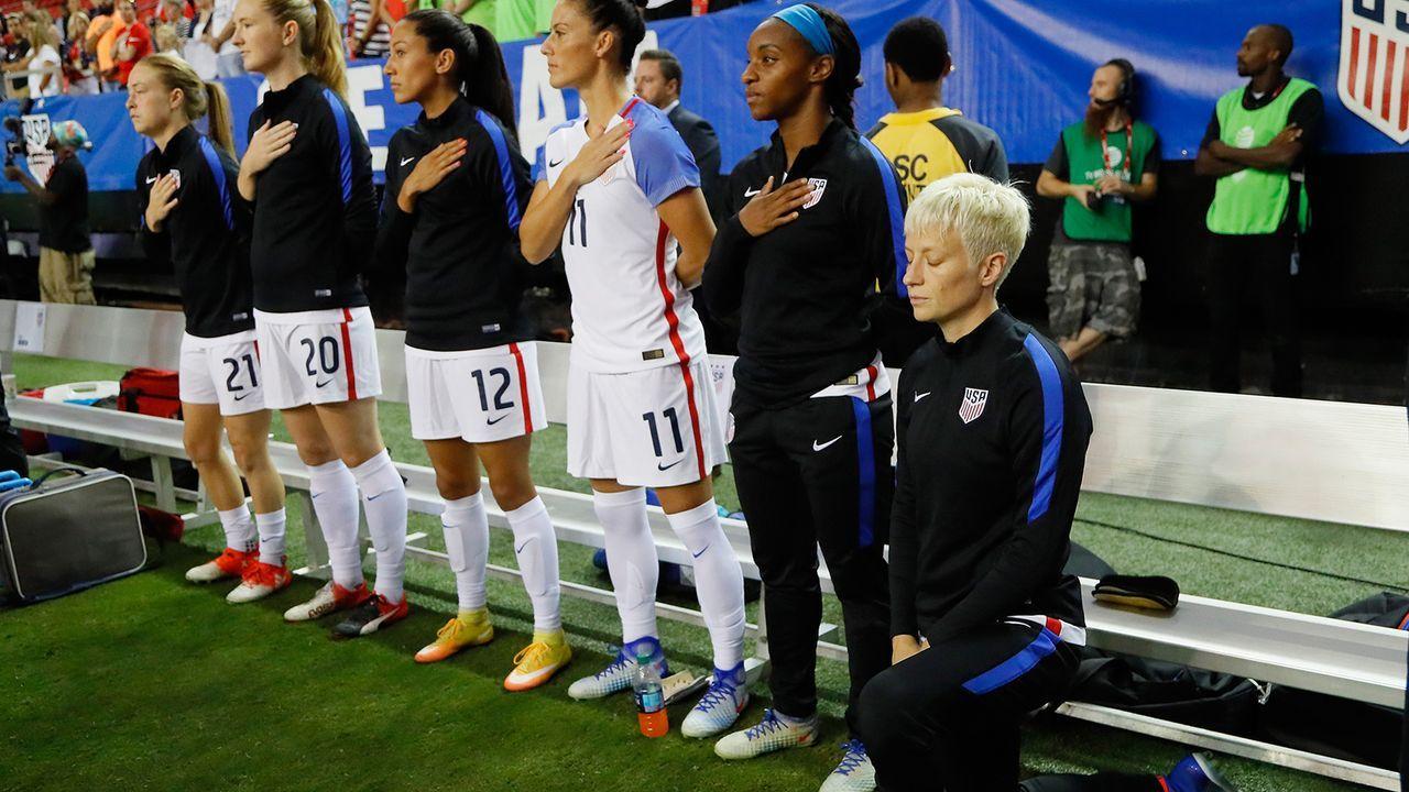 Endlich ordentlicher Frauenfußball - Bildquelle: Getty Images