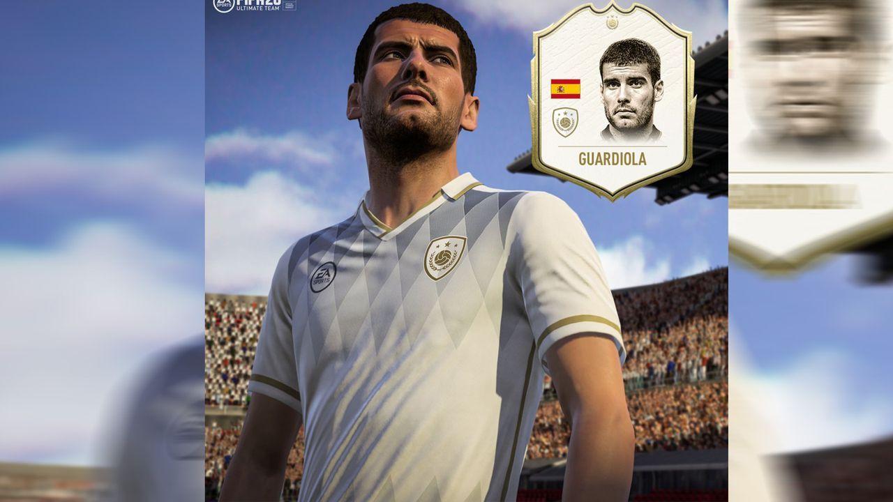 FIFA 20: Die neuen Icons im Ultimate Team - Pep Guardiola  - Bildquelle: twitter.com/easports