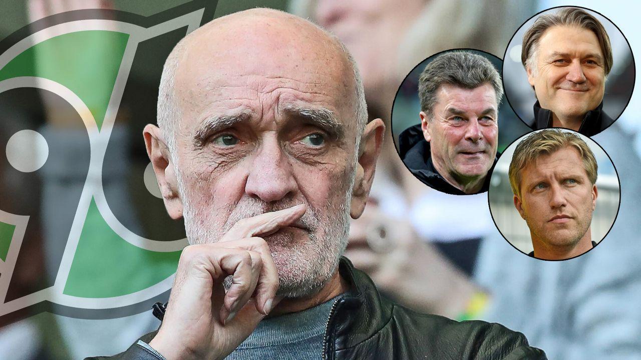 Hannover 96 auf Manager-Suche - Bildquelle: imago images / Christian Schroedter