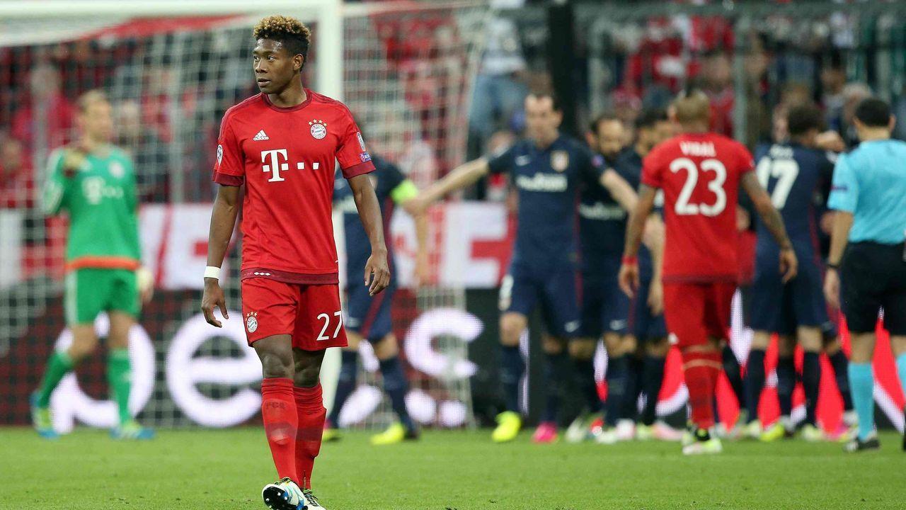 2015/2016: Atletico Madrid gegen FC Bayern (Halbfinale)  - Bildquelle: imago