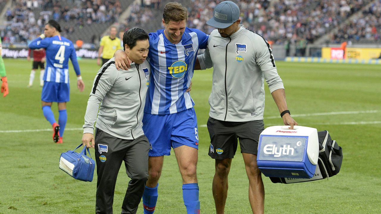 Niklas Stark (Hertha BSC) - Bildquelle: imago images / Sven Simon