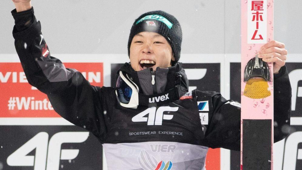 Skispringen: Ryoyu Kobayashi stellt Weltcup-Rekord ein - Bildquelle: AFPSIDGEORG HOCHMUTH