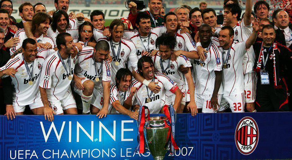 Platz 8: AC Mailand - Bildquelle: 2007 Getty Images