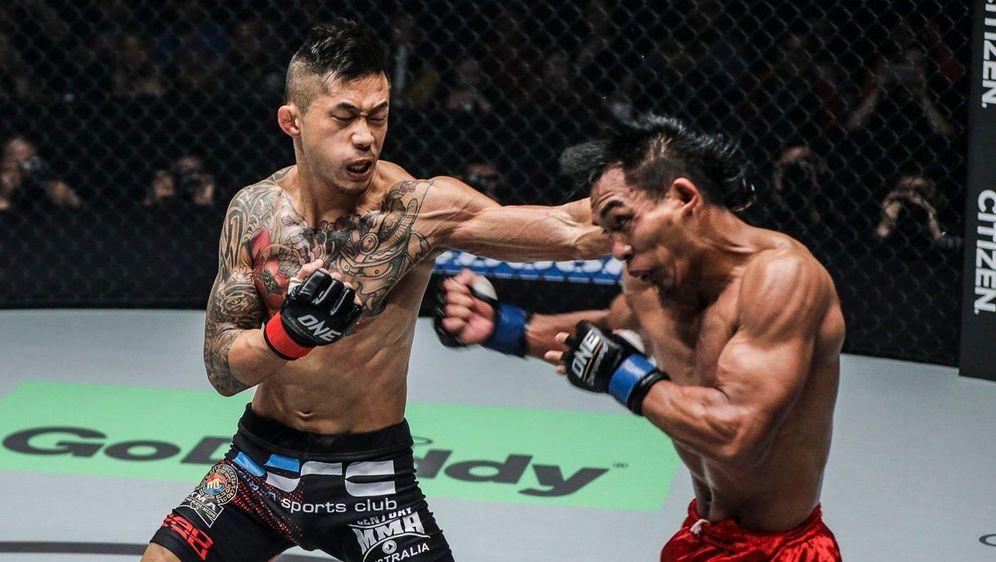 Martin Nguyen (li.) ist seit August 2017 der ONE-Champion im Federgewicht - Bildquelle: ONE