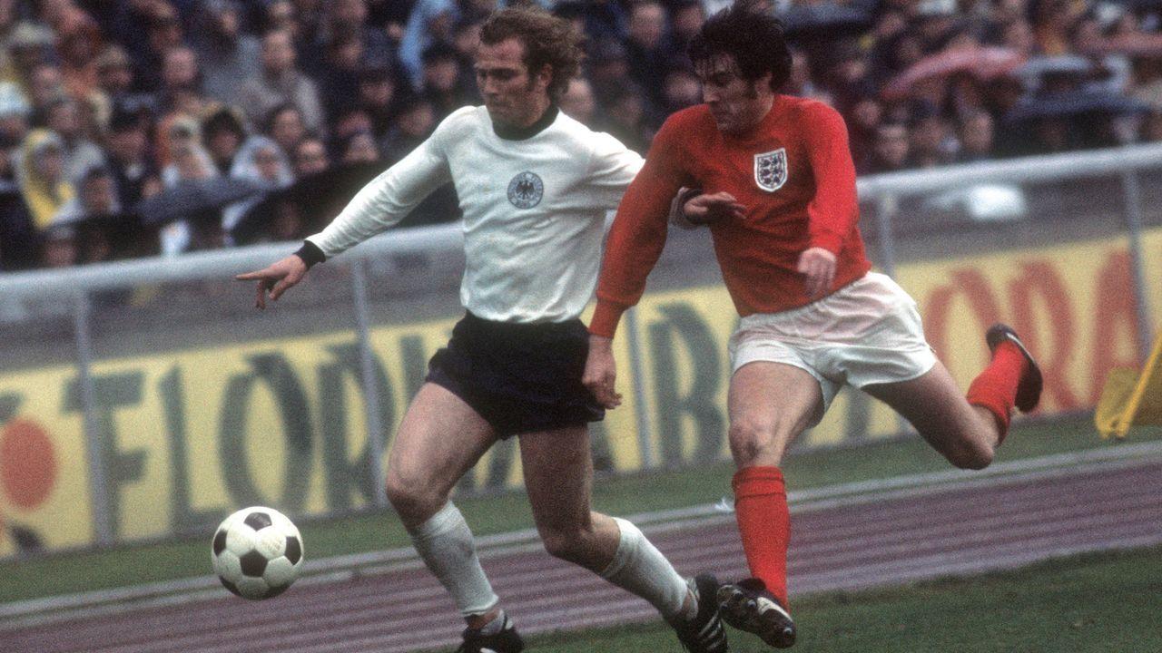 EM 1972: England - Deutschland 1:3 (1:0) - Bildquelle: imago/Horstmüller