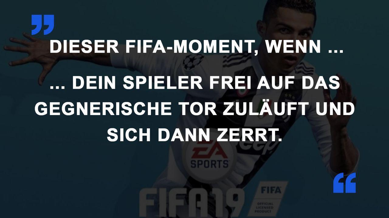 FIFA Momente Zerrung
