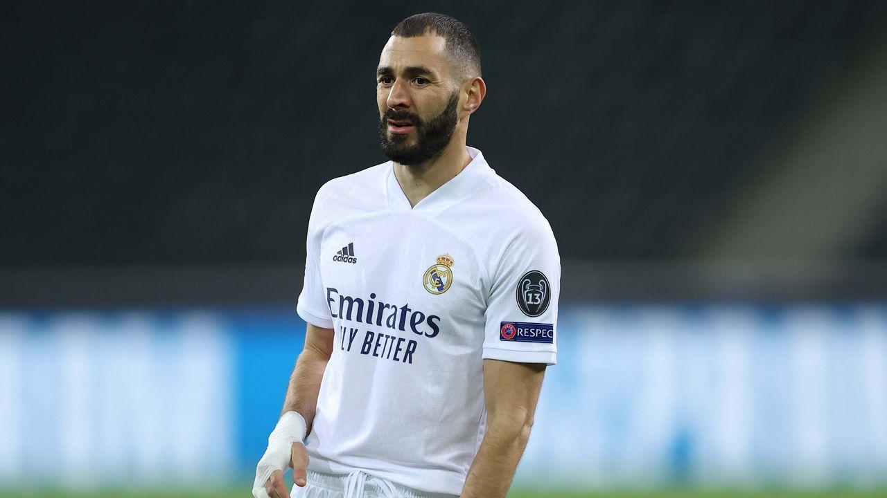 Gruppenphase, 2. Spieltag: Karim Benzema (Real Madrid) - Meiste Saisons mit mindestens einem Tor - Bildquelle: getty