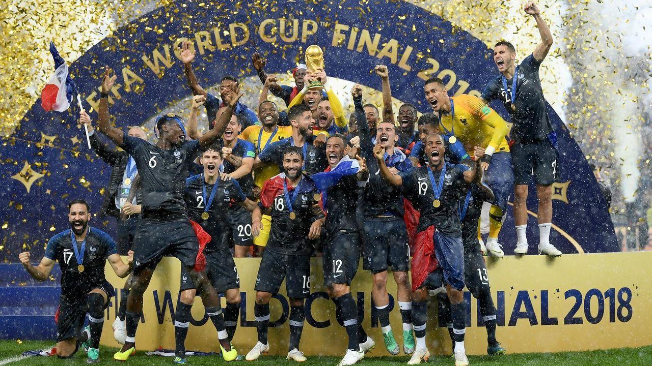 Platz 1: Frankreich (fünf Final-Teilnahmen) - Bildquelle: imago