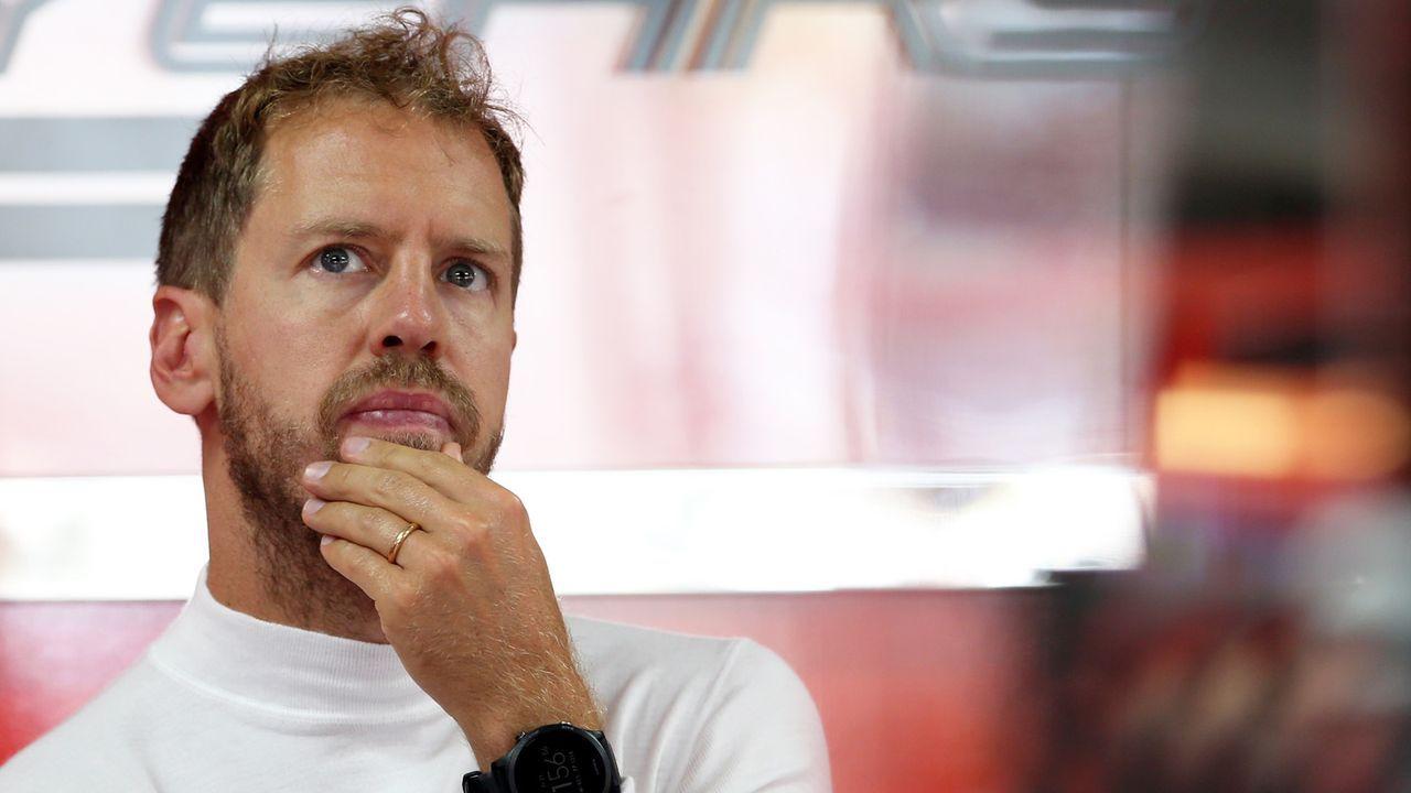 Platz 6: Sebastian Vettel (Scuderia Ferrari) - Bildquelle: 2019 Getty Images