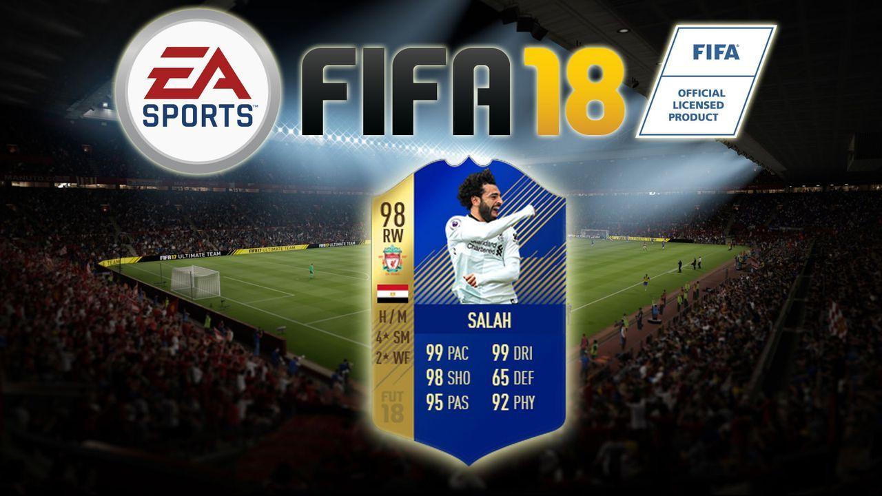 Mohamed Salah - Bildquelle: EA Sports