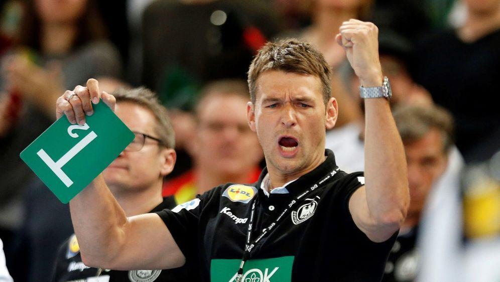 Prokop und das DHB-Team testen vor EM gegen Österreich - Bildquelle: PIXATHLONPIXATHLONSID