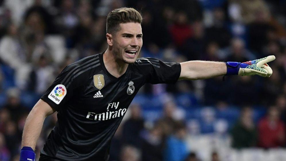 Luca Zidane vor Ausleihe in zweite spanische Liga - Bildquelle: AFPSIDJAVIER SORIANO
