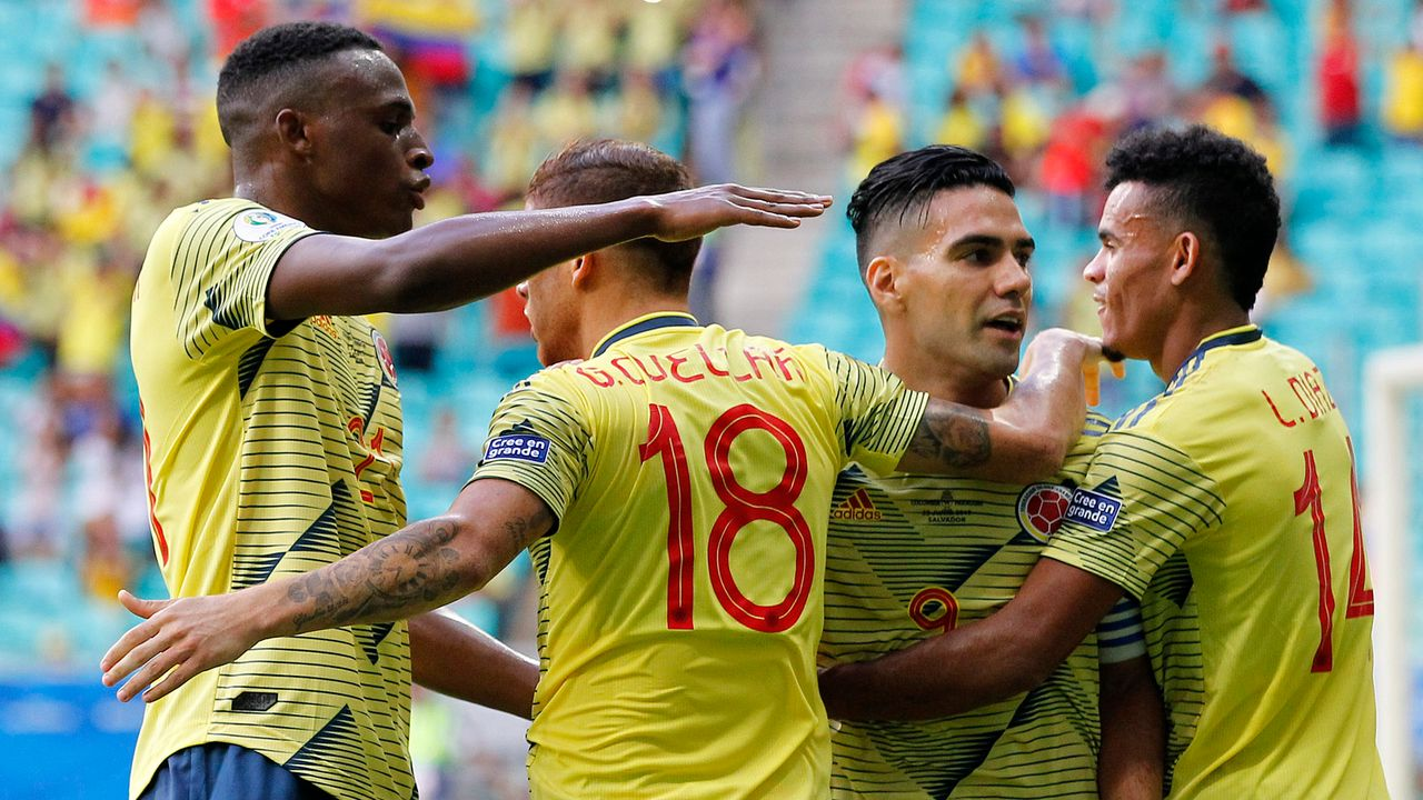 Platz 3: Kolumbien - Bildquelle: 2019 Getty Images