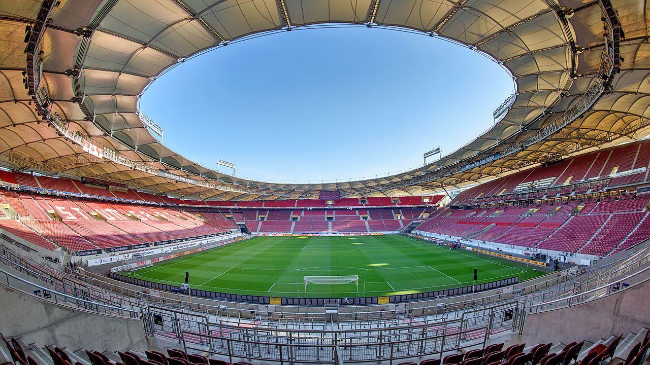 Platz 5: VfB Stuttgart - Mercedes Benz-Arena - Bildquelle: Getty