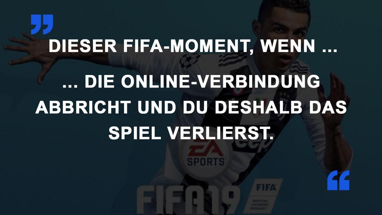 FIFA Momente Verbindung