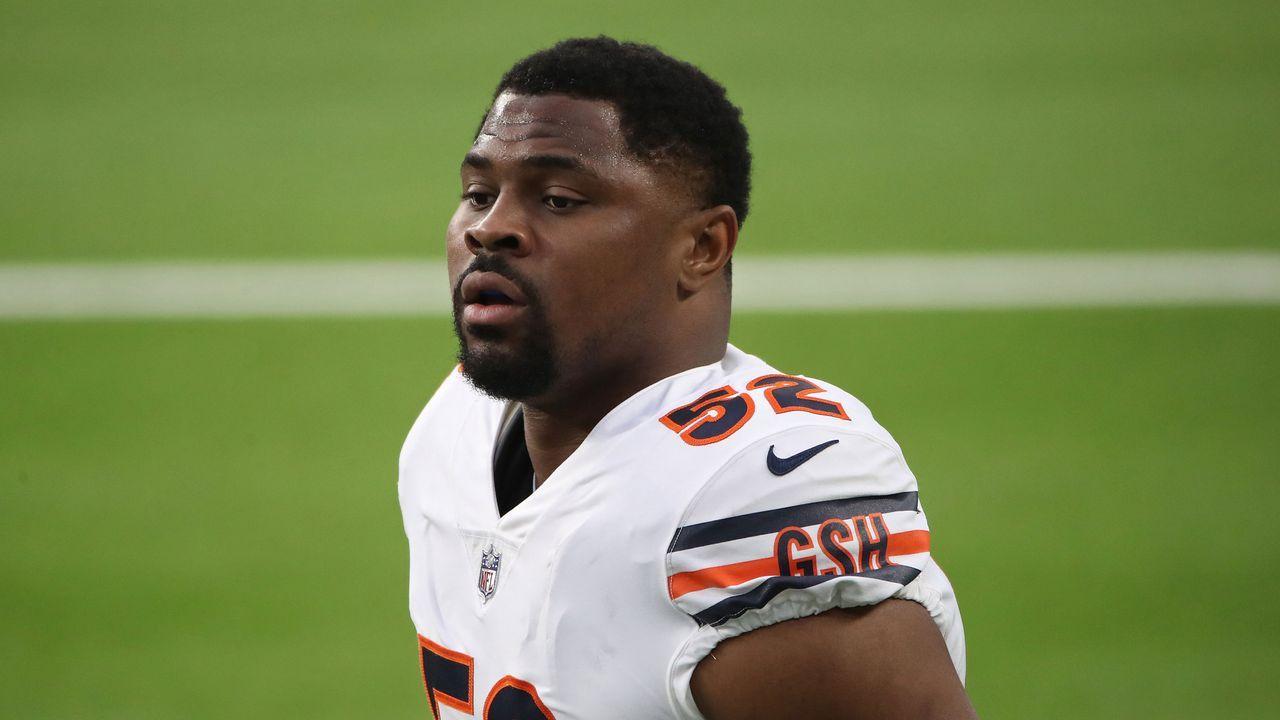 Platz 2: Khalil Mack (Chicago Bears) - Bildquelle: 2020 Getty Images