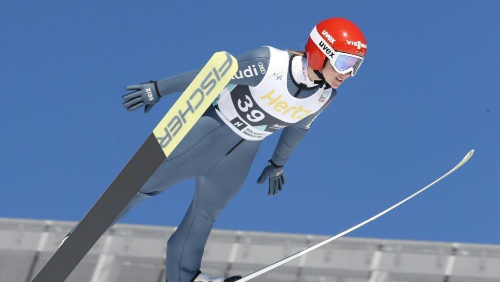 Katharina Althaus fliegt in Lillehammer auf Rang sechs - Bildquelle: AFPSIDTERJE BENDIKSBY