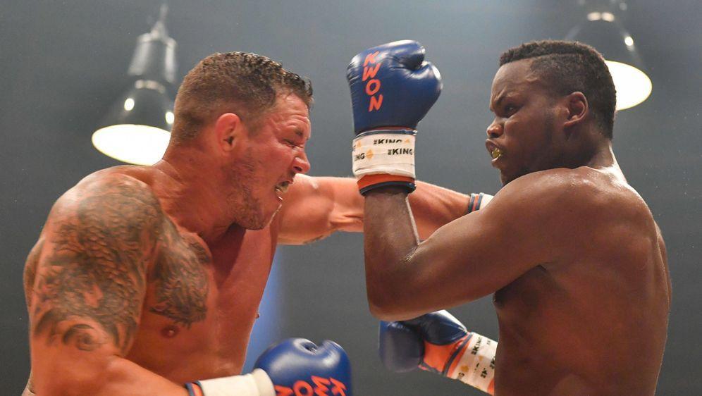 Fred Sikking (li.) steht im Vier-Mann-Turnier der CWS Fight Night - Bildquelle: imago sportfoto