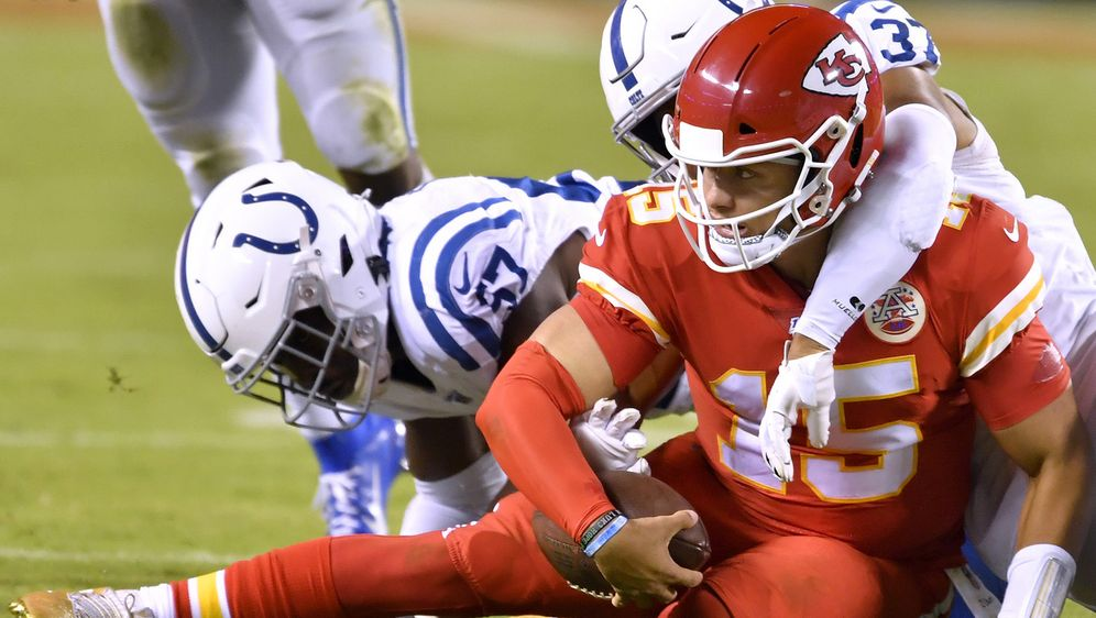 Die Chiefs kassierten gegen die Indianapolis Colts ihre erste Niederlage der... - Bildquelle: imago images/ZUMA Press