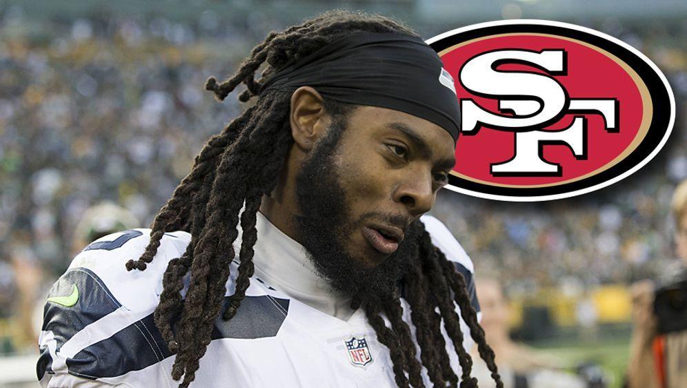 Von Seattle nach San Francisco: Richard Sherman hat sich mit den 49ers auf e... - Bildquelle: imago