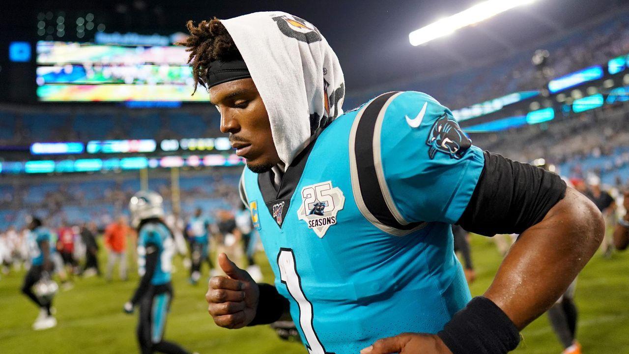 9. Spieltag: Cam Newton gegen die Carolina Panthers - Bildquelle: getty