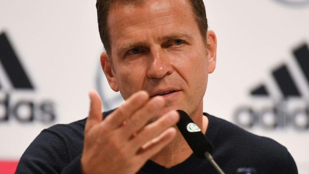 Oliver Bierhoff hat ambitionierte Ziele für die EM 2020 - Bildquelle: AFPSIDPATRIK STOLLARZ