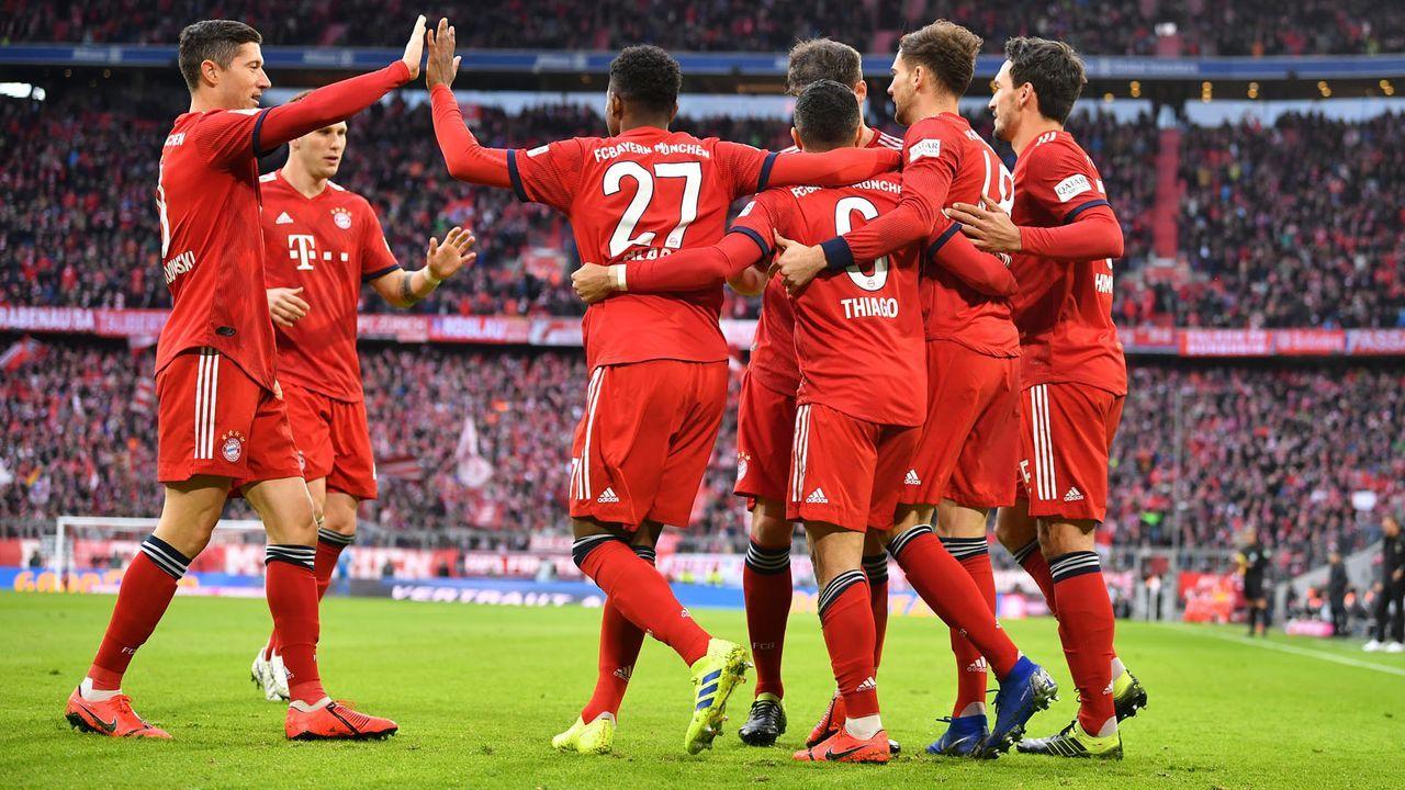 Platz 5: FC Bayern München - Bildquelle: 2019 Getty Images