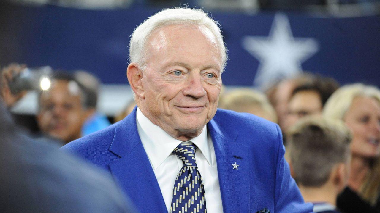 Dallas Cowboys - Jerry Jones - Bildquelle: imago/UPI Photo