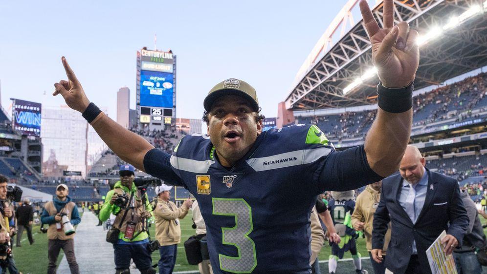 Russell Wilson will noch mit 45 Jahren in der NFL spielen - Bildquelle: 2019 Getty Images