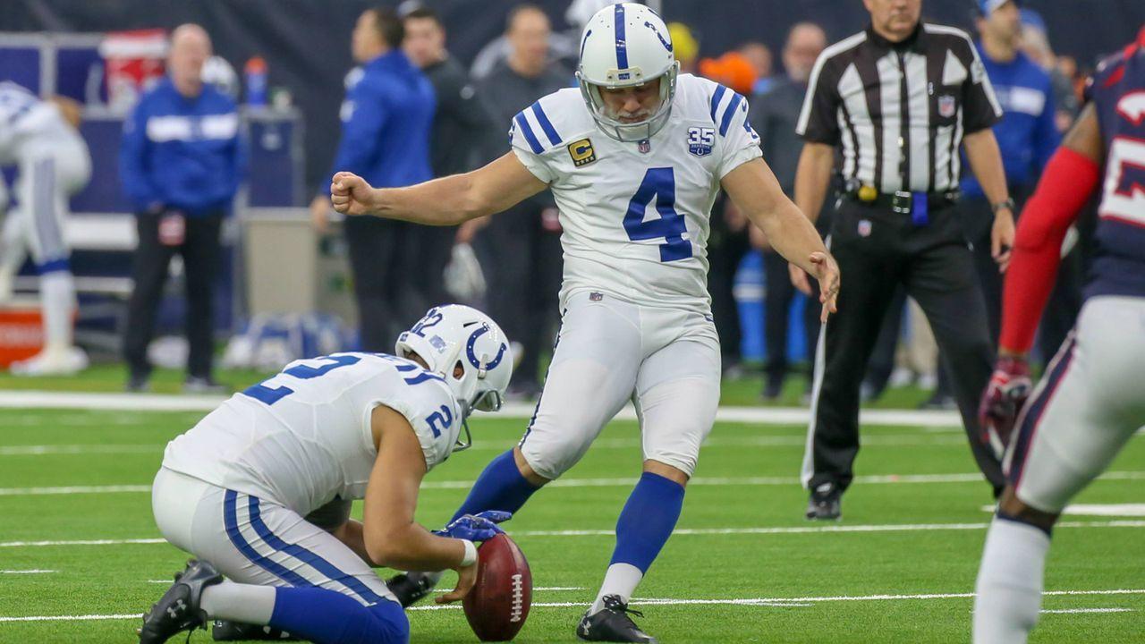Platz 9: Adam Vinatieri (Indianapolis Colts) - Bildquelle: imago/Icon SMI