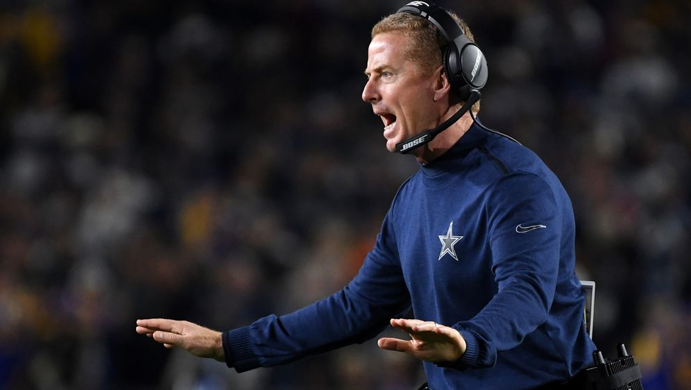 Meist in der Kritik: Cowboys-Coach Jason Garrett. - Bildquelle: 2019 Getty Images