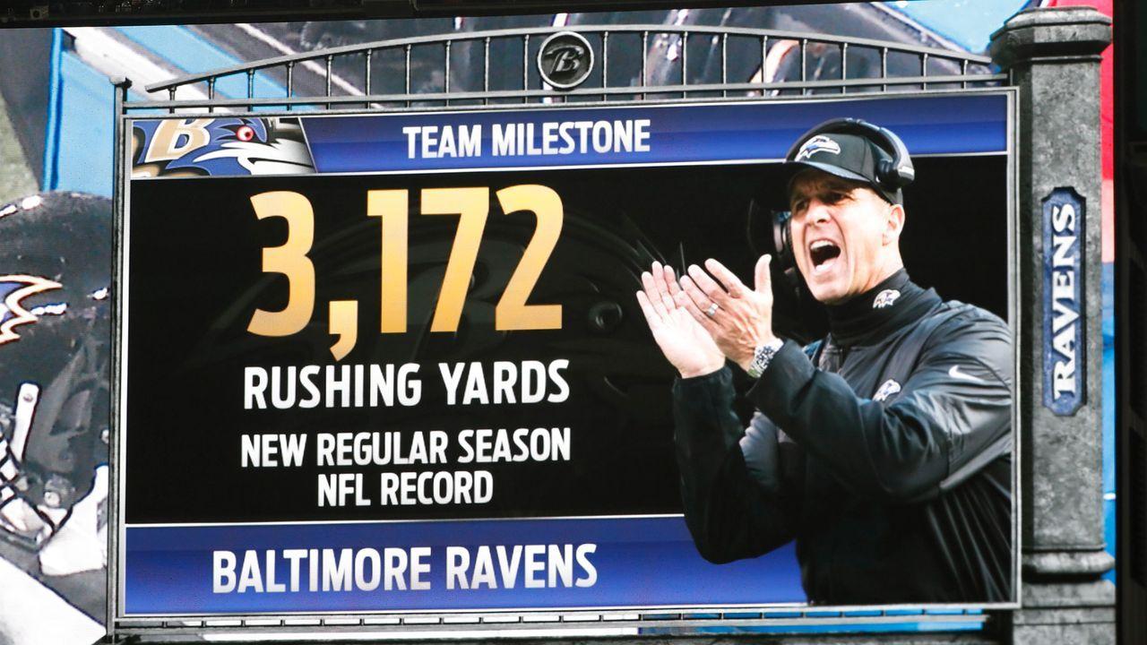 24. Duell: Harbaugh-Team schafft NFL-Rekord - Bildquelle: 2019 Getty Images