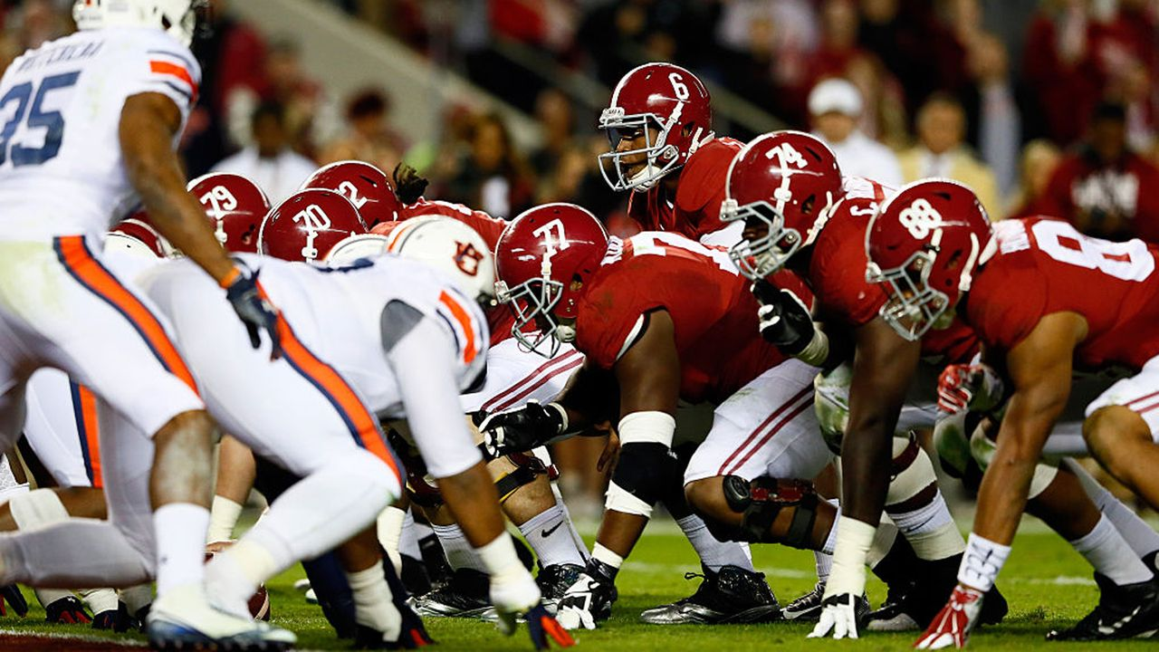 Alabama Crimson Tide - Auburn Tigers - Bildquelle: 2014 Getty Images