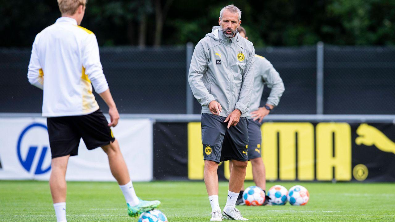 Anders als Favre: Neu-Coach Rose mit mutiger Linie - Bildquelle: imago images/Kirchner-Media