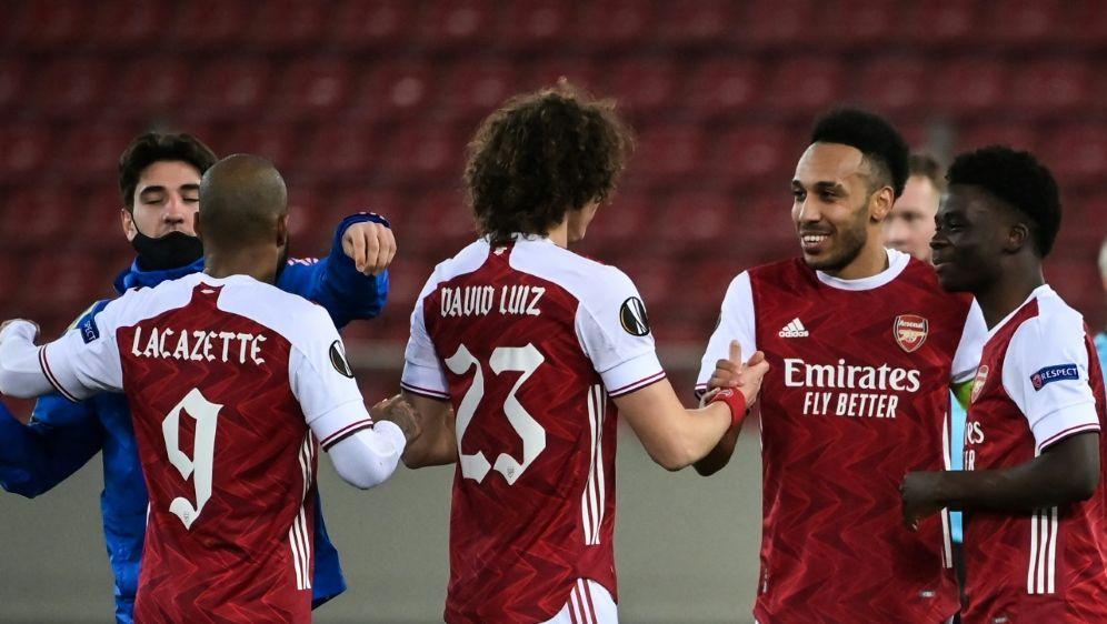Arsenal steht im Achtelfinale - Bildquelle: AFPSIDARIS MESSINIS