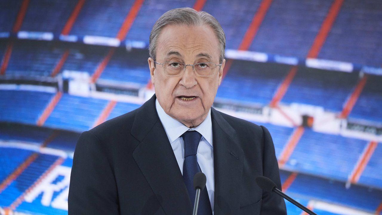 Florentino Perez (Real Madrid) - Bildquelle: Imago