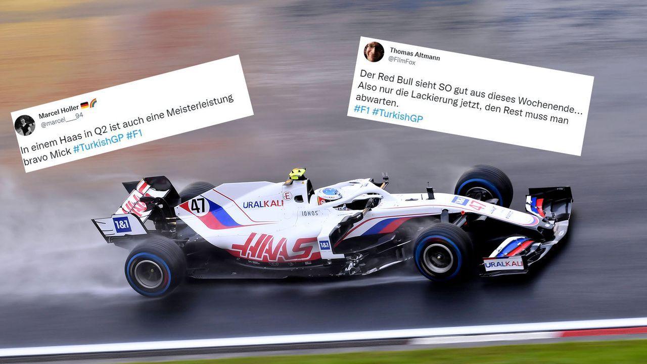 """""""Meisterleistung"""": Netz feiert Schumacher nach Quali-Coup - Bildquelle: imago images/Laci Perenyi"""