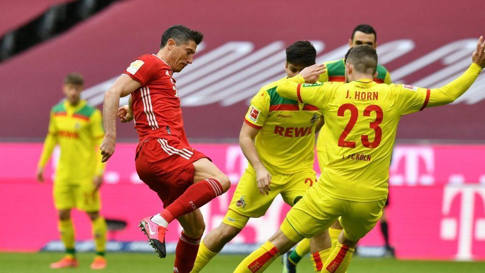 Lewandowski mit Doppelpack gegen Köln - Bildquelle: AFPSIDKERSTIN JOENSSON