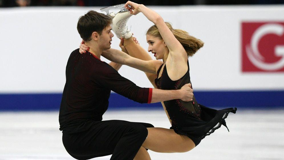Mit Chancen auf die Top Ten: Das Duo Seegert/Hase - Bildquelle: AFPSIDKIRILL KUDRYAVTSEV