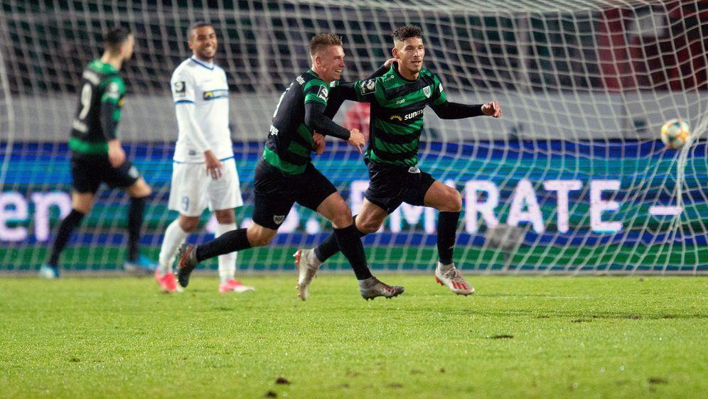 Preußen Münster feiert einen 2:0-Erfolg gegen Magdeburg - Bildquelle: Imago