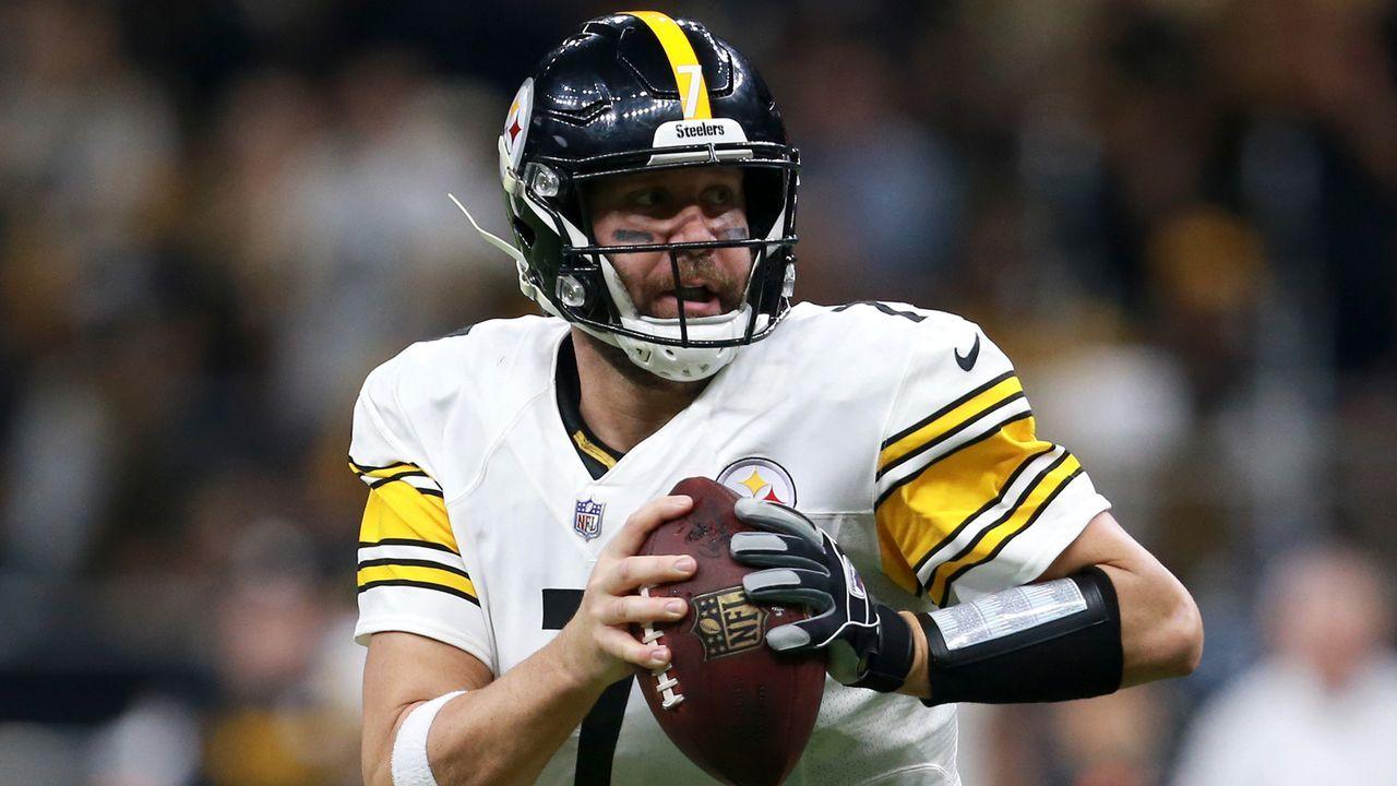 Ben Roethlisberger (Quarterback, Pittsburgh Steelers) - Bildquelle: 2018 Getty Images