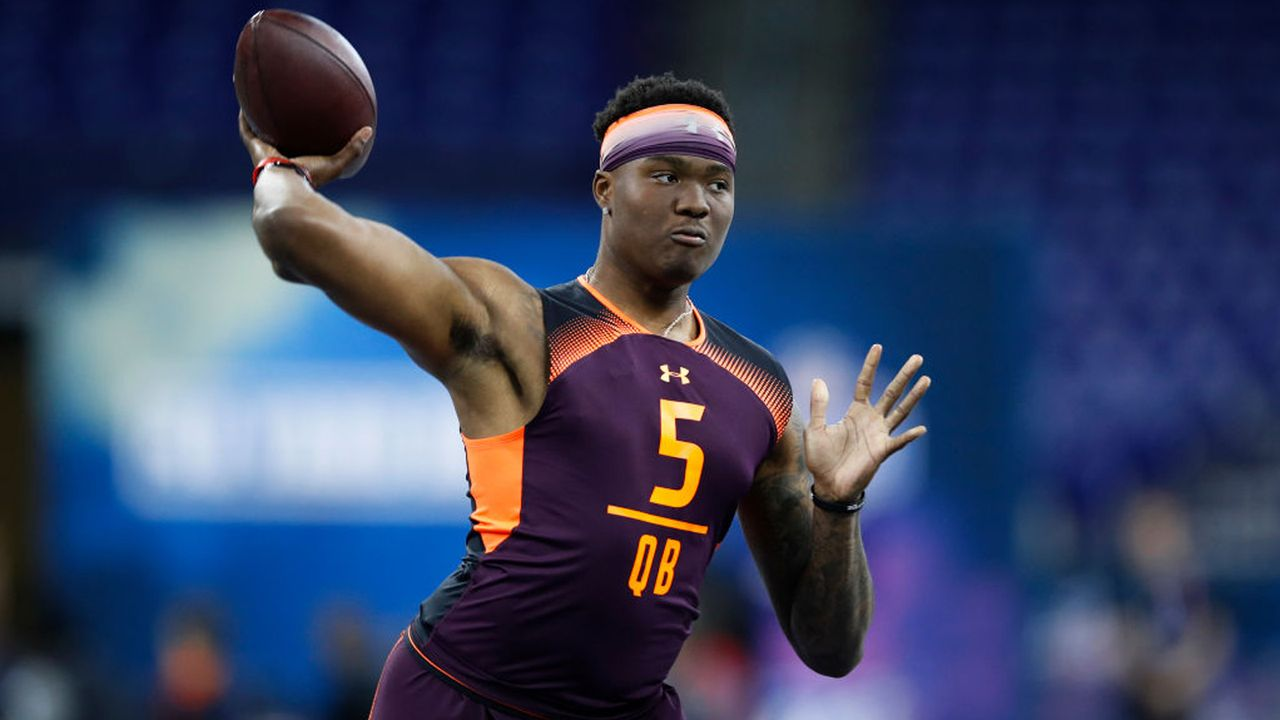 Dwayne Haskins (Ohio State) - Bildquelle: 2019 Getty Images