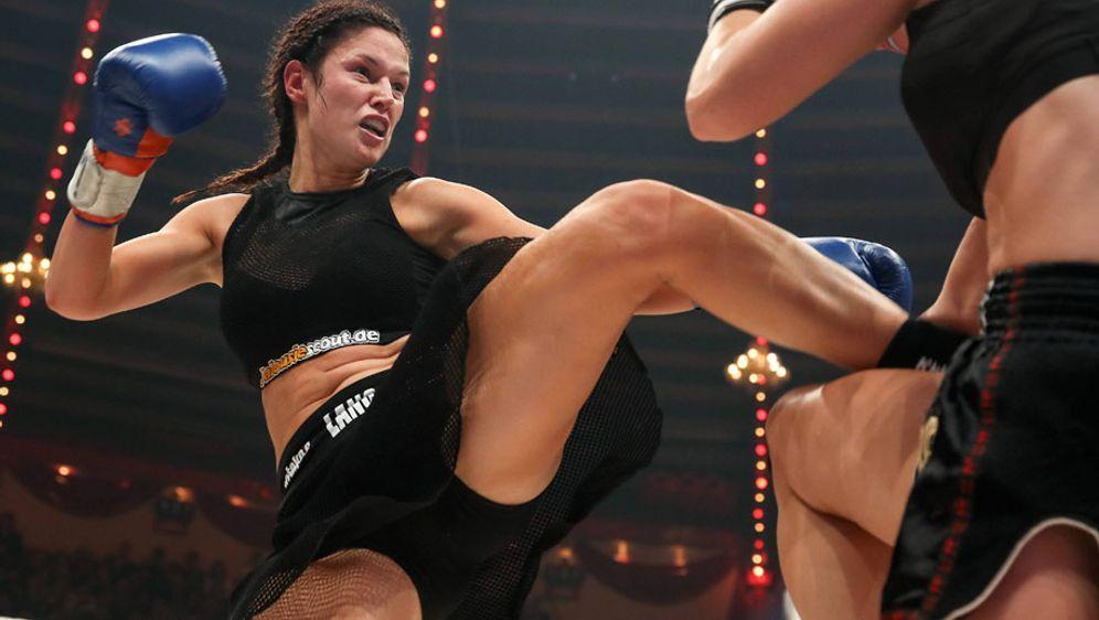 Marie Lang kann ihren makellosen Kampfrekord auf 35-0 ausbauen - Bildquelle: imago